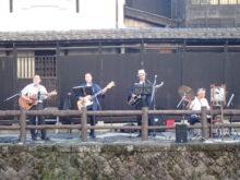 蔵の街船頭バンド演奏