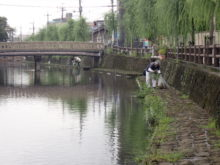 巴波川を愛し汗水流します